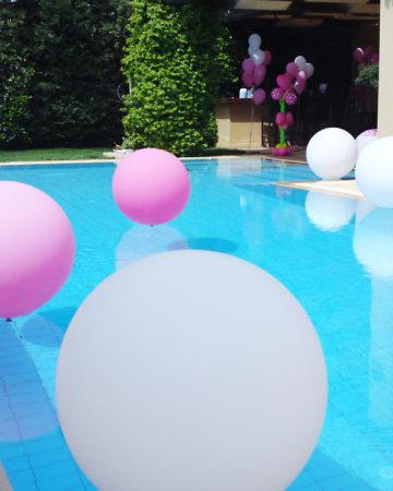 Balloons pool
